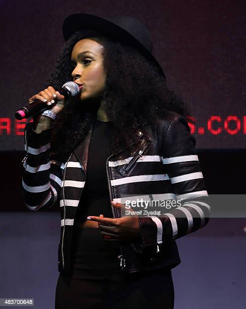 Janelle Monae at Stage 48 on August 11 2015 in New York City