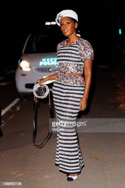 Janelle Monae at the afterparty for Chanel fashion show on December 4 2018 in New York City