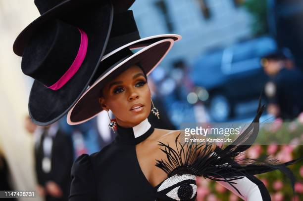 Janelle Monae attend The 2019 Met Gala Celebrating Camp Notes on Fashion at Metropolitan Museum of Art on May 06 2019 in New York City