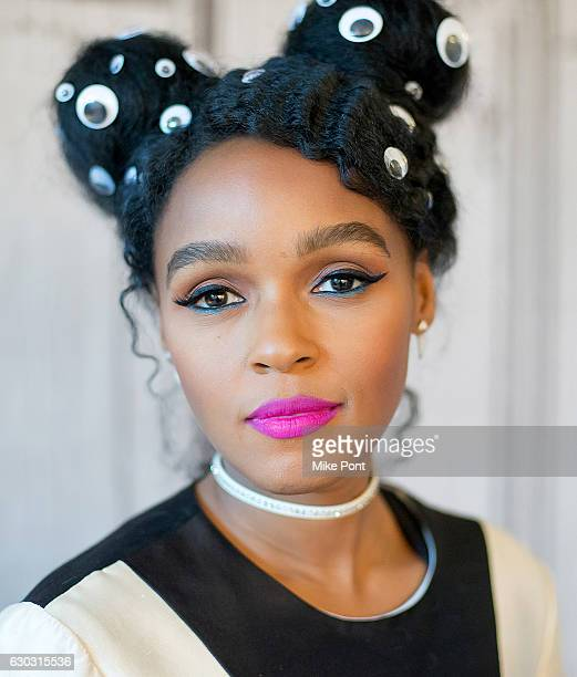 Janelle Monae attends Build Series to discuss the film 'Hidden Figures' at AOL HQ on December 20 2016 in New York City