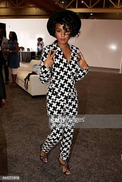 Janelle Monae attends Day 2 of the 2016 Essence Festival at Ernest N Morial Convention Center on July 1 2016 in New Orleans Louisiana