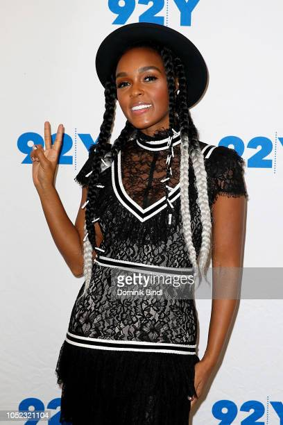 Janelle Monae attends Janelle Monae in Conversation with Brittany Spanos at 92nd Street Y on October 16 2018 in New York City