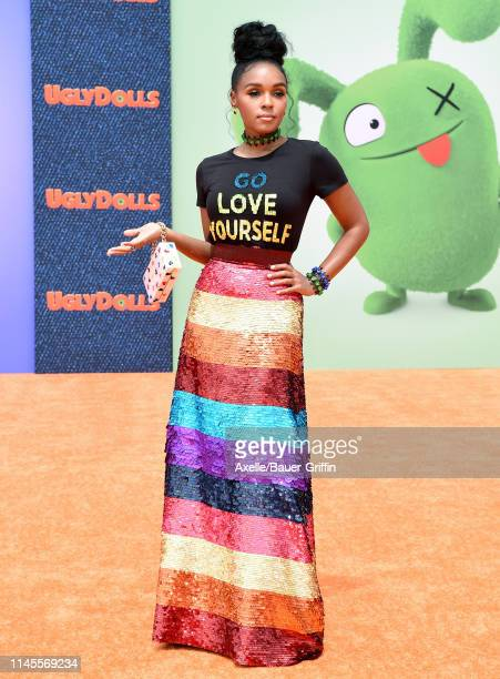 Janelle Monae attends STX Films World Premiere of UglyDolls at Regal Cinemas LA Live on April 27 2019 in Los Angeles California