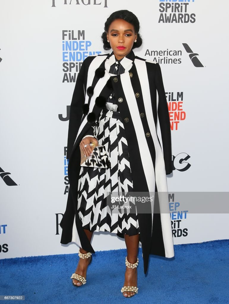 Janelle Monae attends the 2017 Film Independent Spirit Awards on February 25, 2017 in Santa Monica, California.
