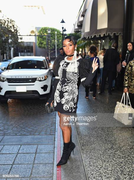 Janelle Monae attends the 2018 Essence Black Women In Hollywood Oscars Luncheon at Regent Beverly Wilshire Hotel on March 1 2018 in Beverly Hills...