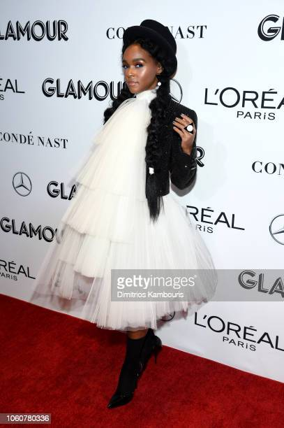 Janelle Monae attends the 2018 Glamour Women Of The Year Awards Women Rise on November 12 2018 in New York City