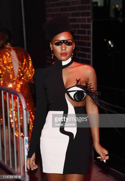 Janelle Monae attends the 2019 Met Gala Boom Boom Afterparty at The Standard hotel on May 06 2019 in New York City