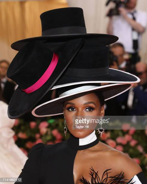 Janelle Monae attends the 2019 Met Gala celebrating Camp Notes on Fashion at The Metropolitan Museum of Art on May 6 2019 in New York City