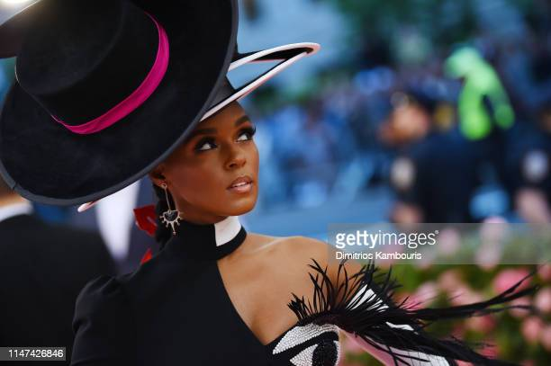 Janelle Monae attends The 2019 Met Gala Celebrating Camp Notes on Fashion at Metropolitan Museum of Art on May 06 2019 in New York City