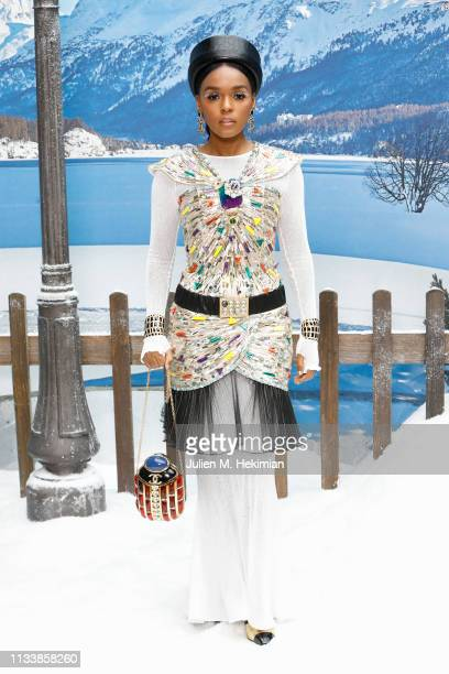 Janelle Monae attends the Chanel show as part of the Paris Fashion Week Womenswear Fall/Winter 2019/2020 on March 05 2019 in Paris France
