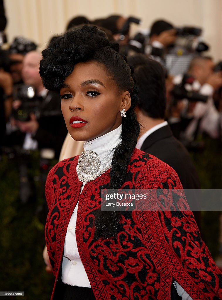 Janelle Monae attends the 'Charles James: Beyond Fashion' Costume Institute Gala at the Metropolitan Museum of Art on May 5, 2014 in New York City.