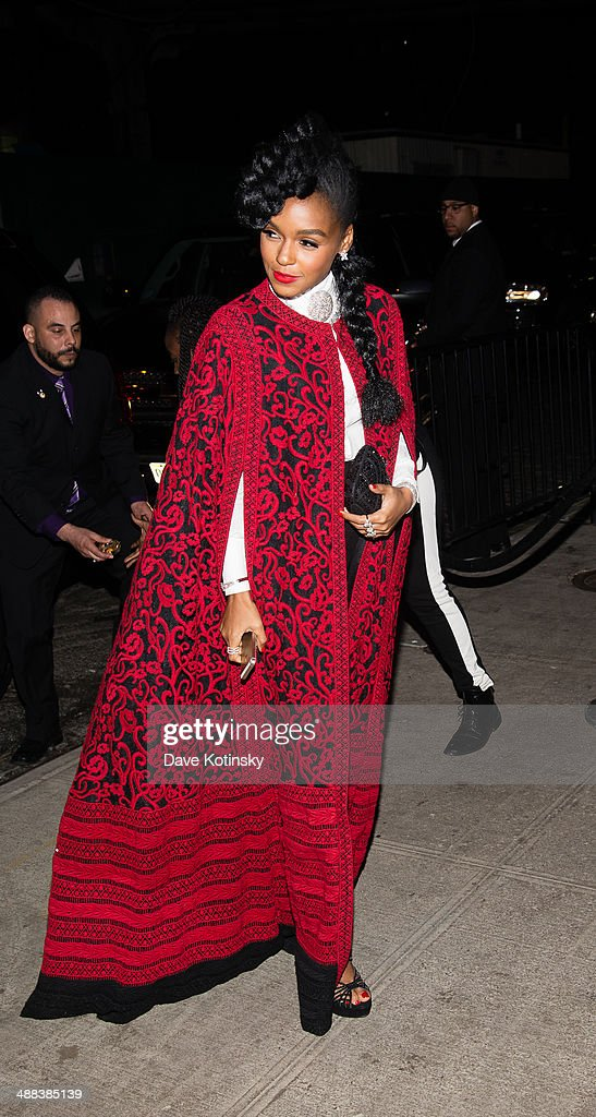 Janelle Monae attends the 'Charles James: Beyond Fashion' Costume Institute Gala After Party at the The Standard Hotel on May 5, 2014 in New York City.