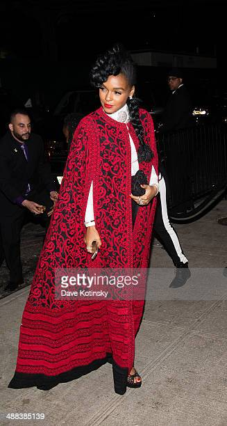 Janelle Monae attends the Charles James Beyond Fashion Costume Institute Gala After Party at the The Standard Hotel on May 5 2014 in New York City