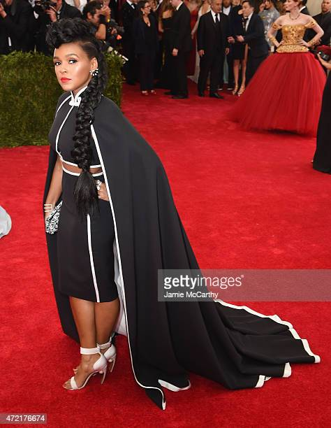 Janelle Monae attends the China Through The Looking Glass Costume Institute Benefit Gala at the Metropolitan Museum of Art on May 4 2015 in New York...