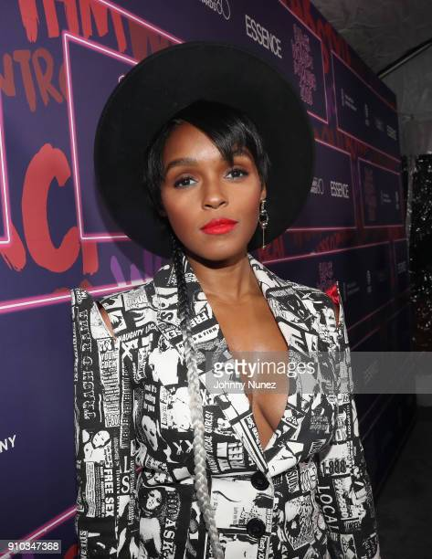 Janelle Monae attends the Essence 9th annual Black Women in Music at Highline Ballroom on January 25 2018 in New York City