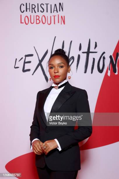 Janelle Monae attends the Exhibition Opening of L'Exibition[niste] by Christian Louboutin as part of Paris Fashion Week Womenswear Fall/Winter...