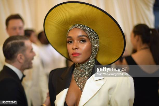 Janelle Monae attends the Heavenly Bodies Fashion The Catholic Imagination Costume Institute Gala at The Metropolitan Museum of Art on May 7 2018 in...