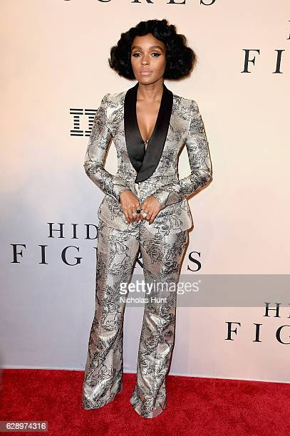"""Janelle Monae attends the """"Hidden Figures"""" New York Special Screening on December 10, 2016 in New York City."""