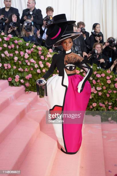 """Janelle Monae attends The Metropolitan Museum Of Art's 2019 Costume Institute Benefit """"Camp: Notes On Fashion"""" at Metropolitan Museum of Art on May..."""