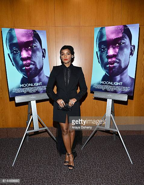 Janelle Monae attends the premiere of A24's Moonlight at DGA Theater on October 13 2016 in Los Angeles California