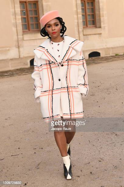 Janelle Monae attends the Valentino show as part of the Paris Fashion Week Womenswear Fall/Winter 2020/2021 on March 01 2020 in Paris France