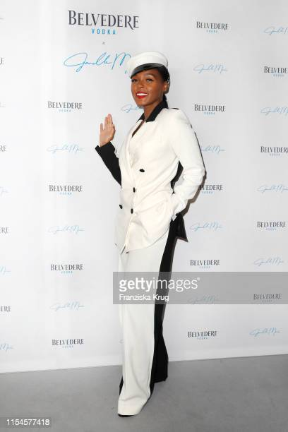 Janelle Monae during the Belvedere X Janelle Monae event at Hotel Zoo on July 8 2019 in Berlin Germany