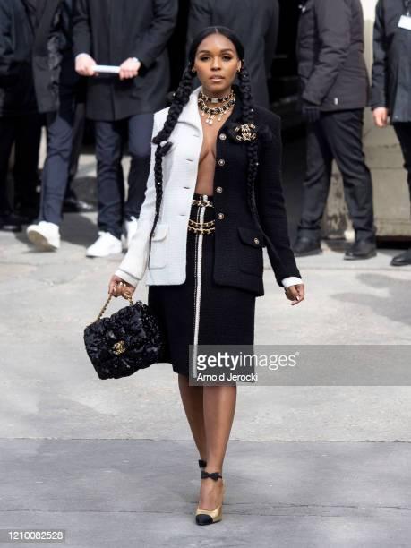 Janelle Monae is seen during Paris Fashion Week Womenswear Fall/Winter 2020/2021 on March 03 2020 in Paris France