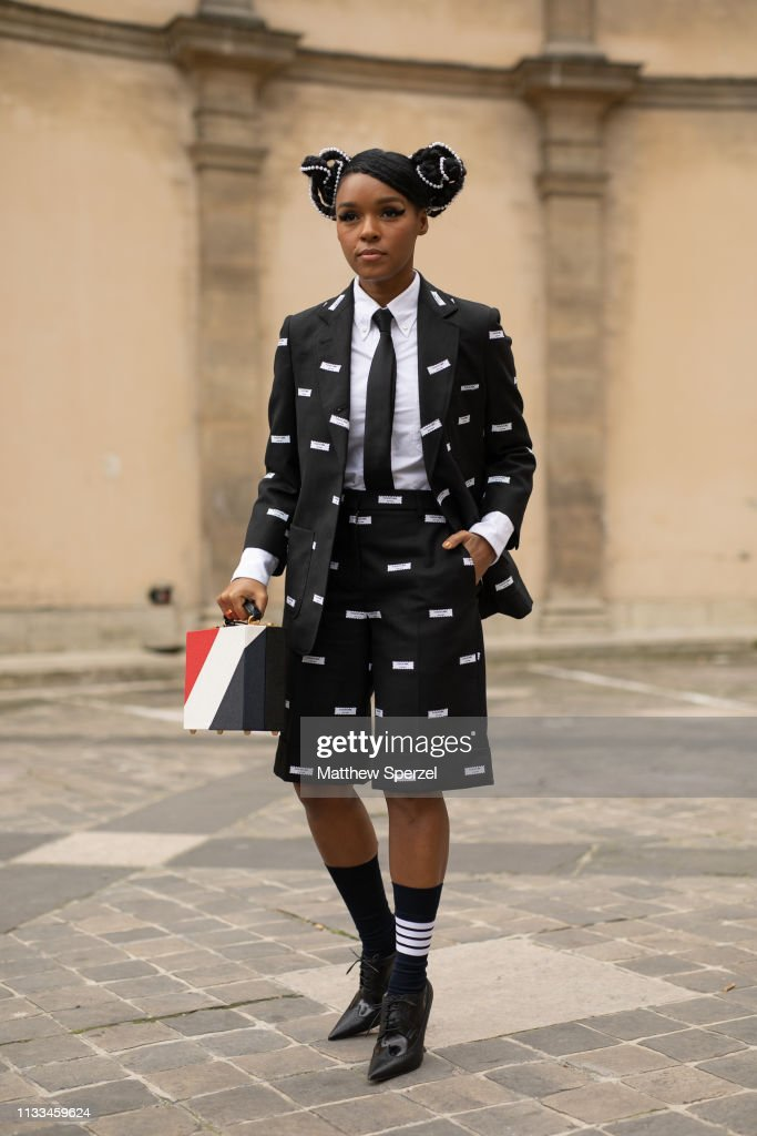 Janelle Monae Tour 2020.Janelle Monae Is Seen On The Street Attending Thom Browne