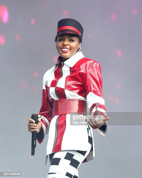 Janelle Monae performs in concert during the ACL Music Festival at Zilker Park on October 7, 2018 in Austin, Texas.
