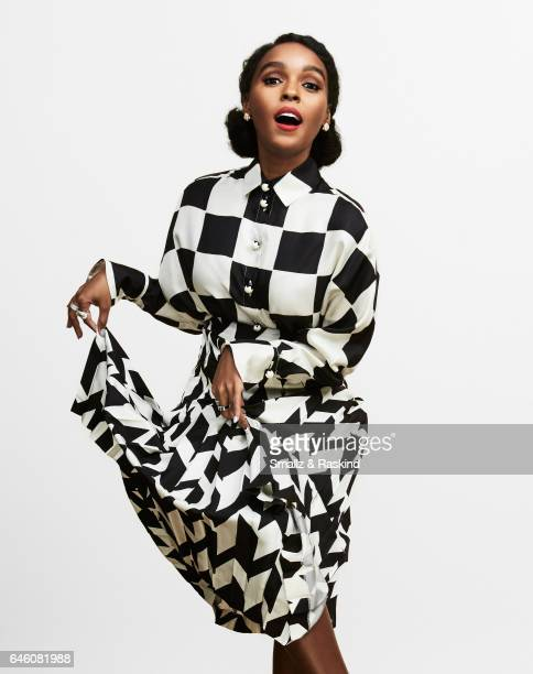 Janelle Monae poses for portrait session at the 2017 Film Independent Spirit Awards on February 25 2017 in Santa Monica California