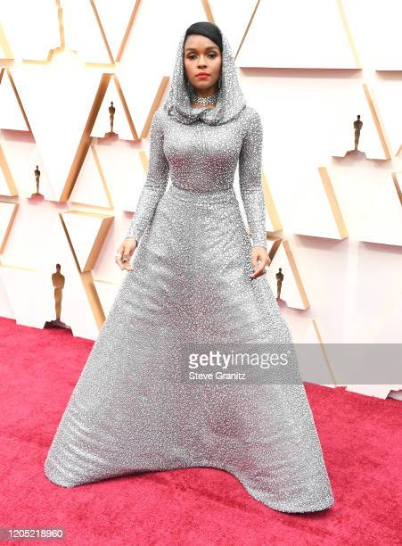Janelle Monáe arrives at the 92nd Annual Academy Awards at Hollywood and Highland on February 09 2020 in Hollywood California