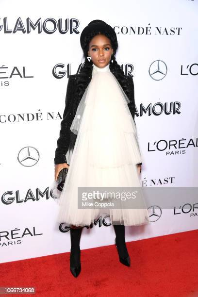 Janelle Monáe attends Glamour Women of the Year Awards 2018 at Spring Studios on November 12 2018 in New York City