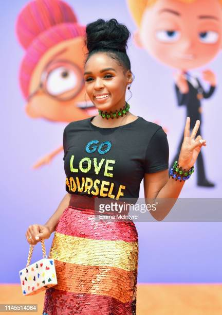 Janelle Monáe attends STX Films World Premiere of UglyDolls at Regal Cinemas LA Live on April 27 2019 in Los Angeles California
