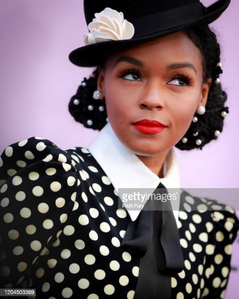 Janelle Monáe attends the 13th Annual Essence Black Women In Hollywood Awards Luncheon at the Beverly Wilshire Four Seasons Hotel on February 06,...