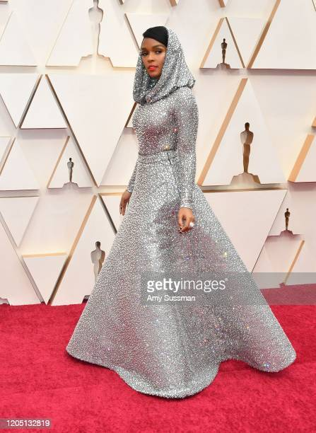 Janelle Monáe attends the 92nd Annual Academy Awards at Hollywood and Highland on February 09, 2020 in Hollywood, California.