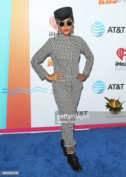 Janelle Mon‡e attends the iHeartRadio's KIIS FM Wango Tango By ATT held at Banc of California Stadium on June 2 2018 in Los Angeles California