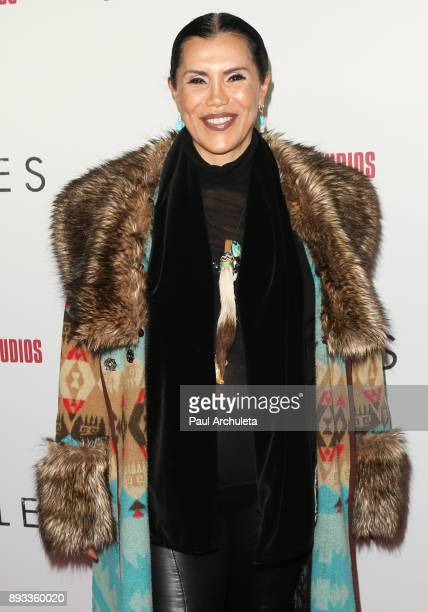 Janelle Ramiro attends the premiere of 'Hostiles' at the Samuel Goldwyn Theater on December 14 2017 in Beverly Hills California