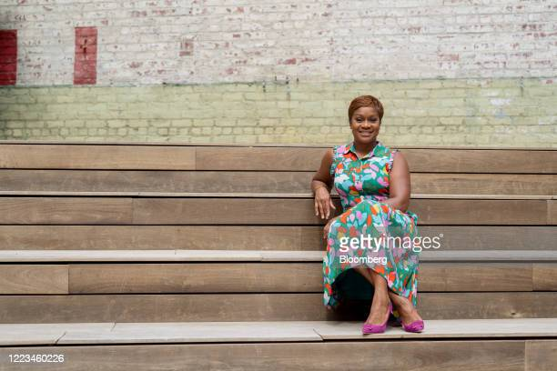 Janessa CoxIrvin global head of diversity and inclusion at AllianceBernstein Holdings LP sits for a photograph in the Brooklyn Borough of New York US...