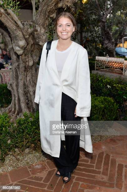 Janessa Leone attends Minka Kelly and Barrett Ward CoHost the FashionABLE Equal Pay Day kickoff Dinner at Gracias Madre on March 29 2017 in Los...