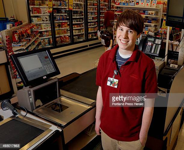 Janessa Plummer is the front end manager at Plummer's Shop 'n Save in Buxton photographed Friday May 17 for the jobs package