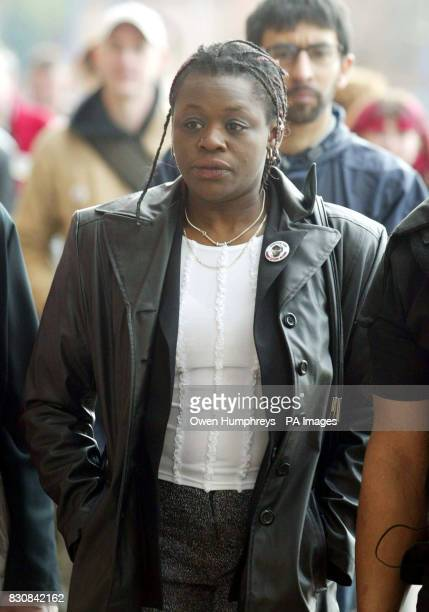 Janet Alder sister of Christopher Alder arrives at Middlesbrough Crown Court Five police officers are due to stand trial for the alleged manslaughter...