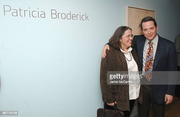 Janet Broderick and Matthew Broderick