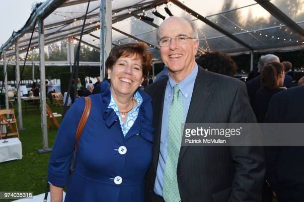 Janet Brogan and Chris Brogan attend the Franklin D Roosevelt Four Freedoms Park's gala honoring Founder Ambassador William J Vanden Heuvel at...