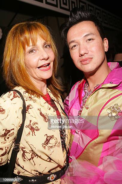 Janet Charlton and Bobby Trendy during Jelessy Collection Summer Party August 17 2005 in Hollywood California United States
