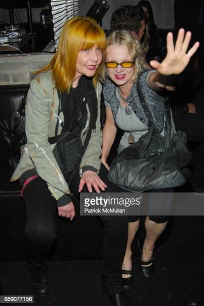 Janet Charlton and guest attend Bryan Rabin Kelly Cole and Ian Cripps Present Diamond Dogs at hwood on April 9 2009 in Hollywood California
