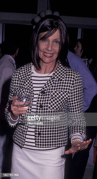 Janet Charlton attends Women's Wear Daily All White Gala on March 20 2002 at Hancock Park in Los Angeles California