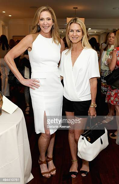 Janet Crown and Crystal Lourd attend Annual PS ARTS Bag Lunch on May 29 2014 in Los Angeles California