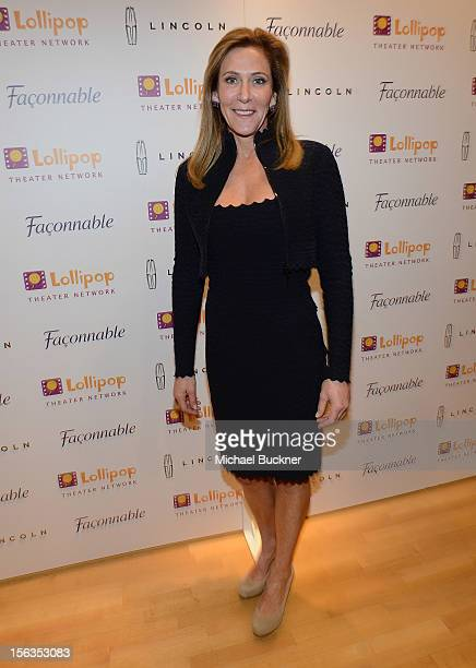Janet Crown attends the Faconnable Kicks Off The Holidays Shopping Event Benefitting Lollipop Theater Network at Faconnable on November 13 2012 in...