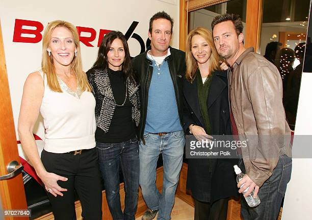 Janet Crown Peterson Courteney CoxArquette Drew Gerstein Lisa Kudrow and Matthew Perry *Exclusive*
