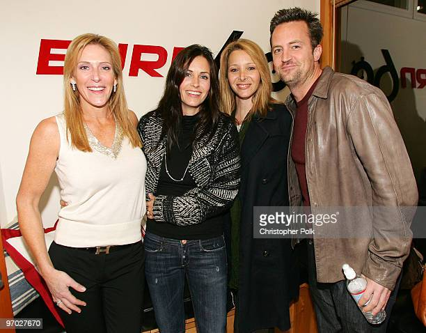 Janet Crown Peterson Courteney CoxArquette Lisa Kudrow and Matthew Perry *Exclusive*
